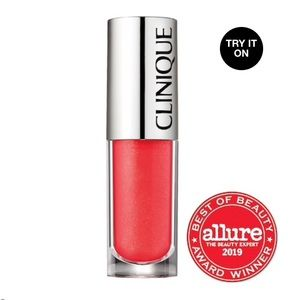 AWARD WINNING Clinique Pop Splash Lipgloss